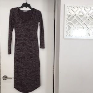 Forever 21 Dresses - Forever 21 comfy maroon maxi dress small